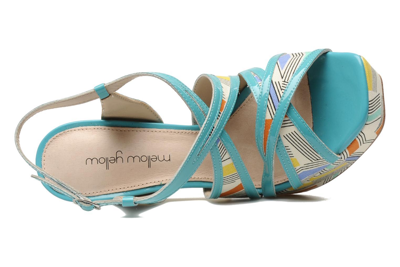 Sandales et nu-pieds Mellow Yellow Novela Bleu vue gauche