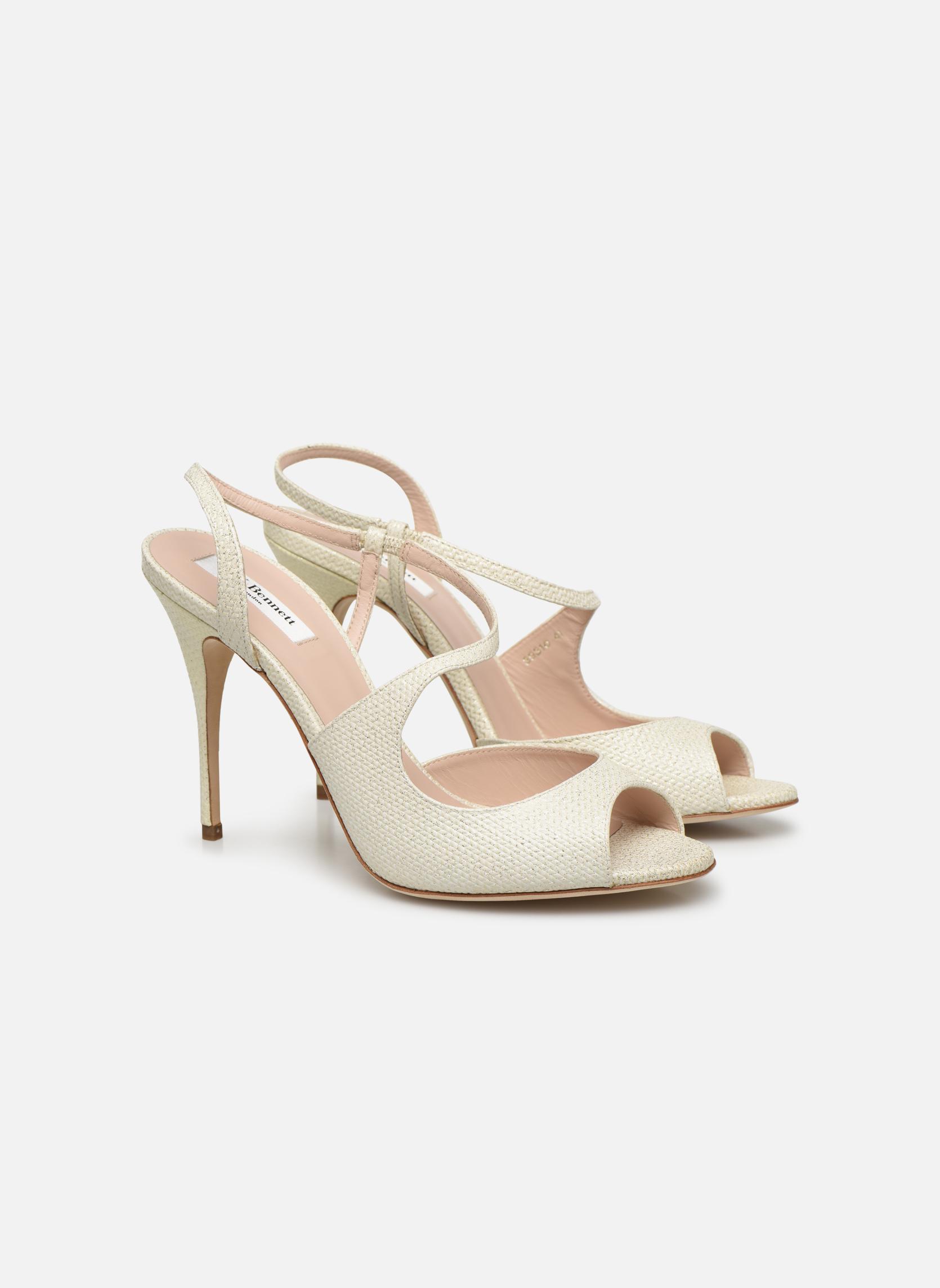Sandales et nu-pieds L.K. Bennett Palma Or et bronze vue 3/4