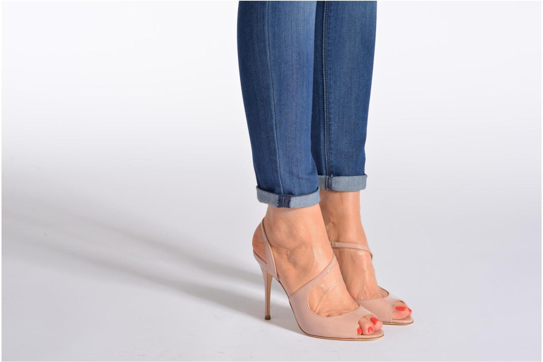 Sandales et nu-pieds L.K. Bennett Palma Or et bronze vue bas / vue portée sac