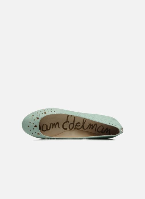 Ballet pumps Sam Edelman Leighton Green view from the left