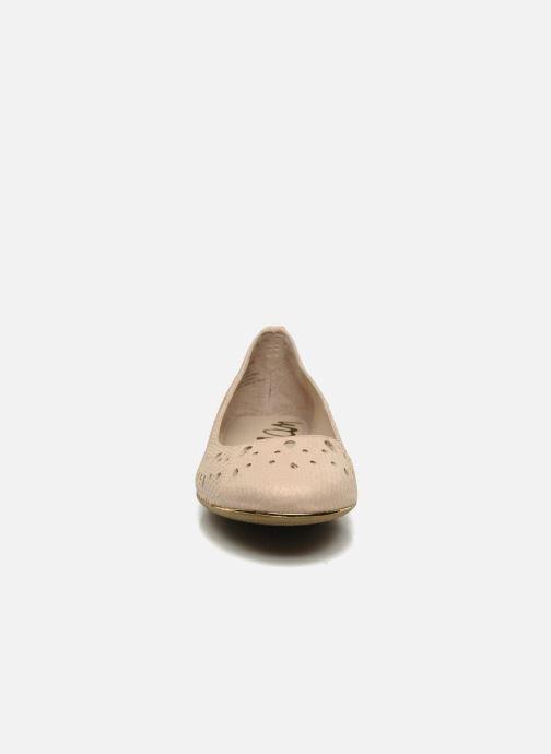 Ballerines Sam Edelman Leighton Beige vue portées chaussures