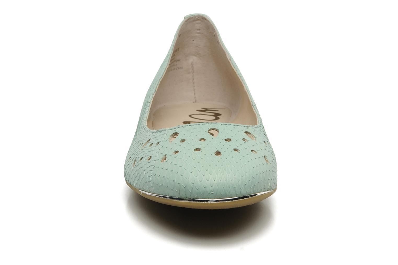 Ballerines Sam Edelman Leighton Vert vue portées chaussures