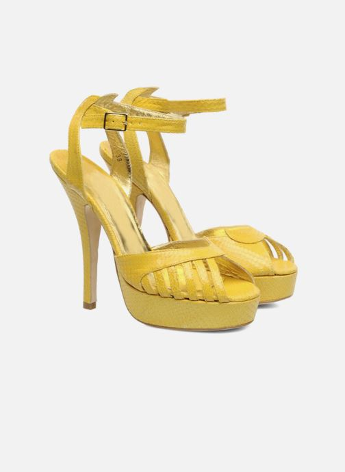 Sandals Terry de Havilland MARGUERITE Yellow 3/4 view