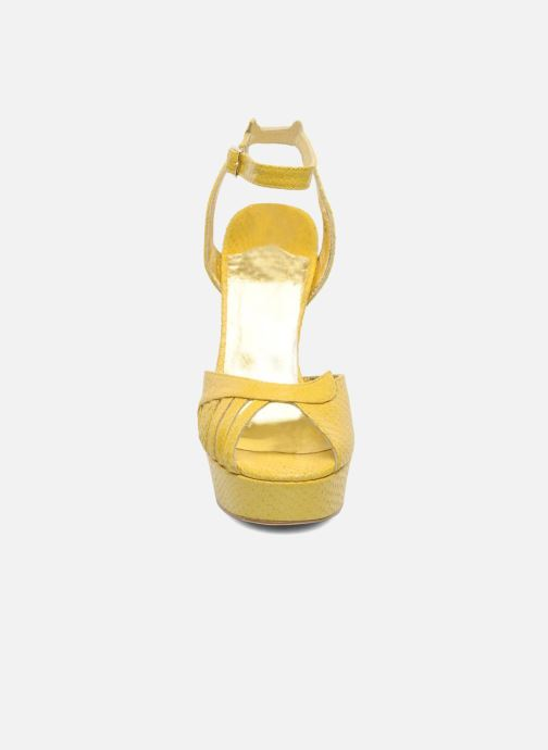 Sandals Terry de Havilland MARGUERITE Yellow model view