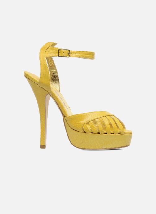 Sandals Terry de Havilland MARGUERITE Yellow back view