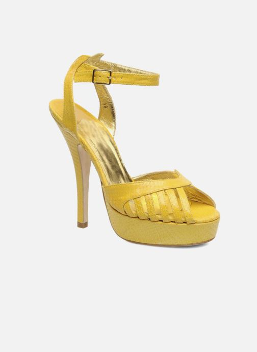 Sandals Terry de Havilland MARGUERITE Yellow detailed view/ Pair view