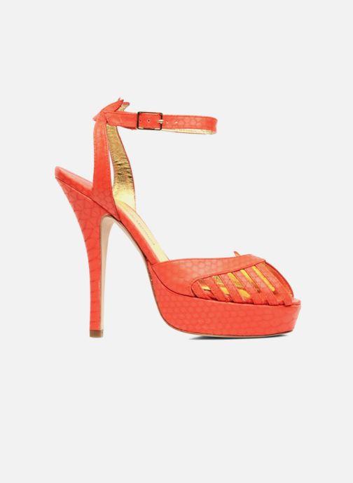 Sandals Terry de Havilland MARGUERITE Orange back view