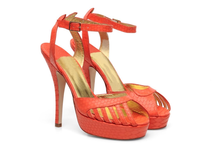 Sandales et nu-pieds Terry de Havilland MARGUERITE Orange vue 3/4