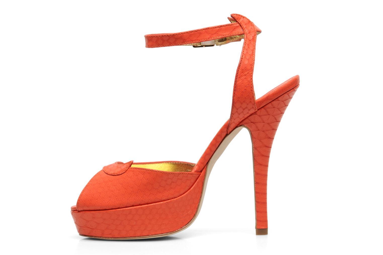 Sandales et nu-pieds Terry de Havilland MARGUERITE Orange vue face