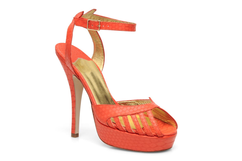 Sandales et nu-pieds Terry de Havilland MARGUERITE Orange vue détail/paire