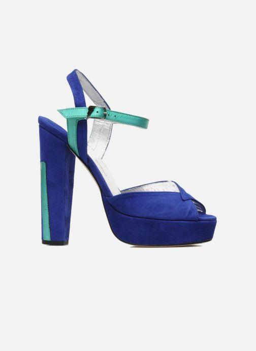 Sandals Terry de Havilland MAREVNA Blue back view