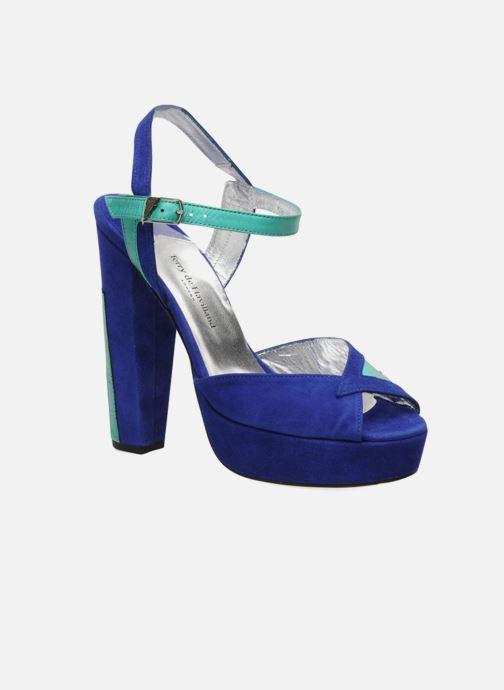 Sandalias Terry de Havilland MAREVNA Azul vista de detalle / par