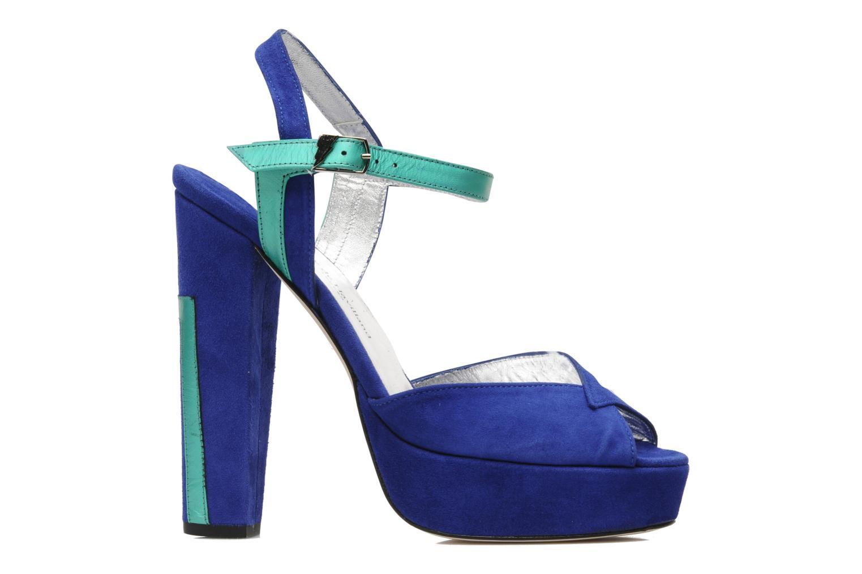 Sandales et nu-pieds Terry de Havilland MAREVNA Bleu vue derrière