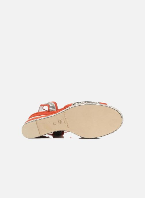 Sandales et nu-pieds Terry de Havilland SIMA 4 TIER Rouge vue haut