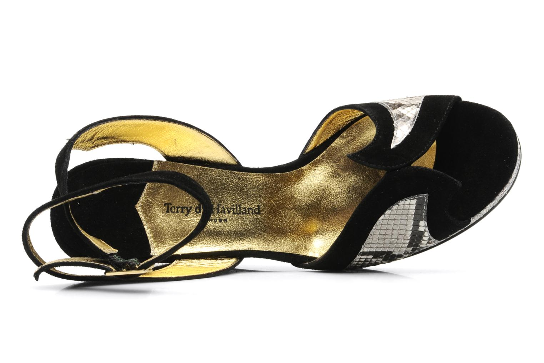 Sandales et nu-pieds Terry de Havilland SIMA 4 TIER Noir vue gauche