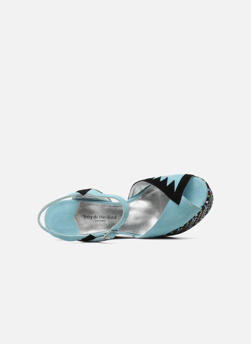 Sandales Nu De Totem Havilland pieds Blue Et Terry trCBsdohQx