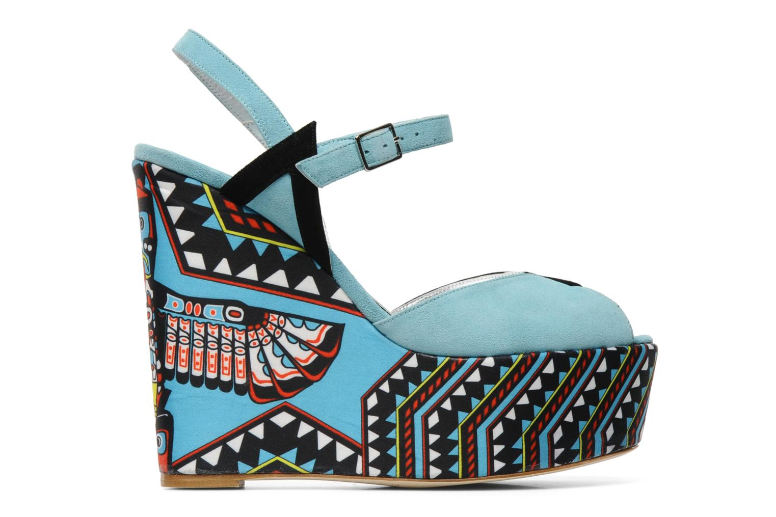 Sandals Terry de Havilland TOTEM Blue back view