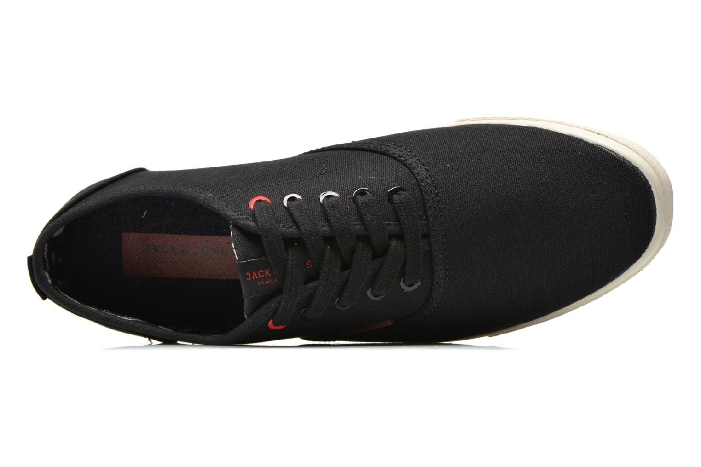 Sneaker Jack & Jones JJ Spider schwarz ansicht von links