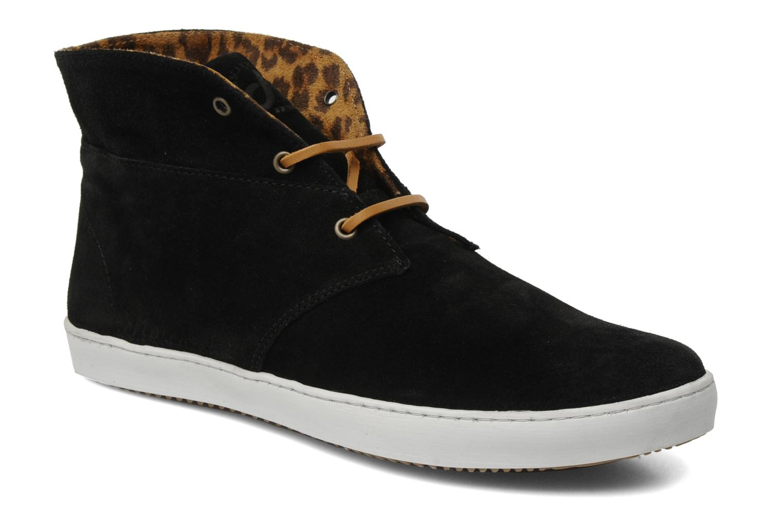 Chaussures à lacets Mascaret Felix Noir vue 3/4