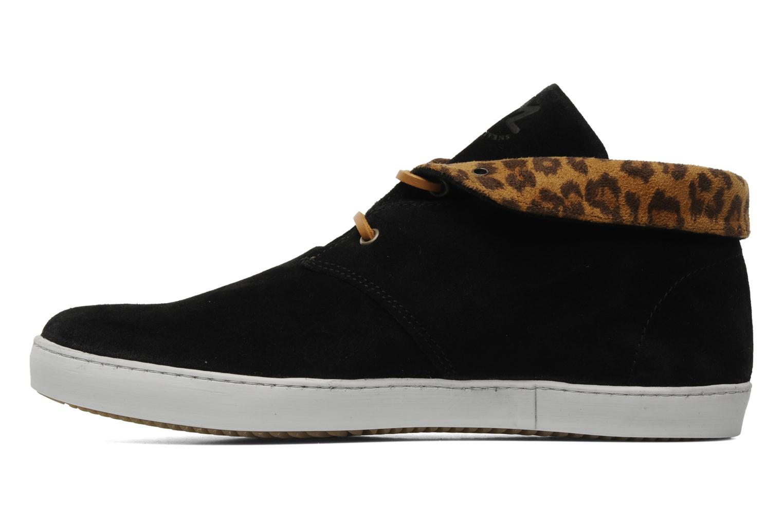 Chaussures à lacets Mascaret Felix Noir vue face