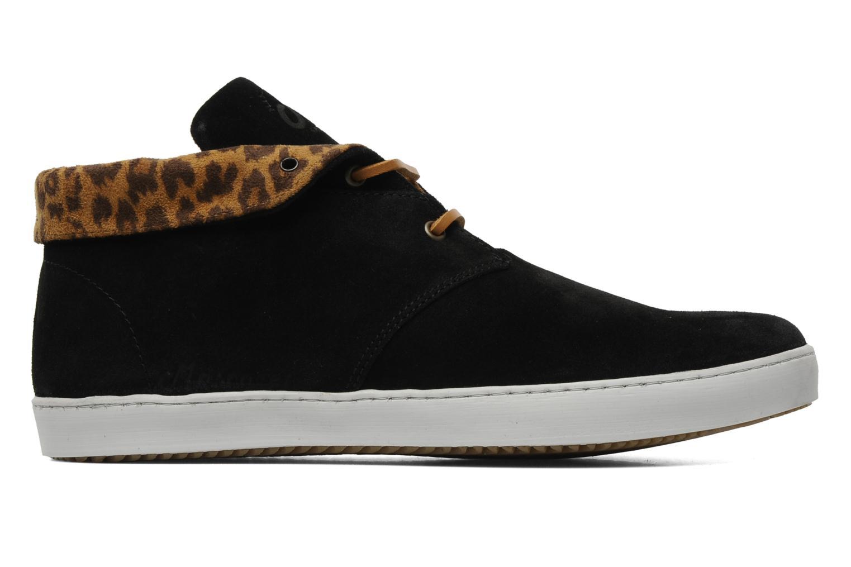 Chaussures à lacets Mascaret Felix Noir vue derrière
