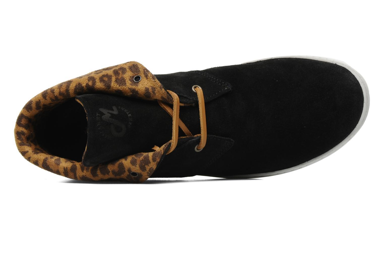 Chaussures à lacets Mascaret Felix Noir vue gauche