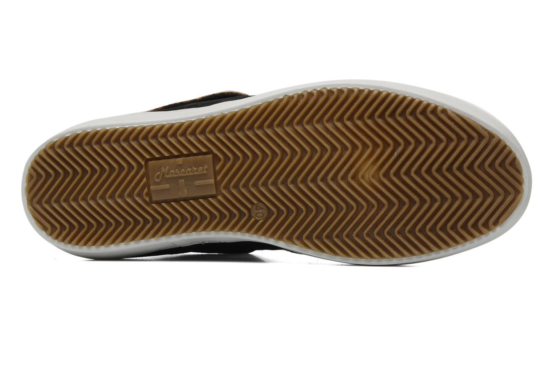 Chaussures à lacets Mascaret Felix Noir vue haut