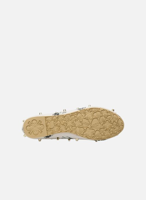Ballerinaer Iron Fist DISTANT MEMORY PEEP TOE FLAT Beige se foroven
