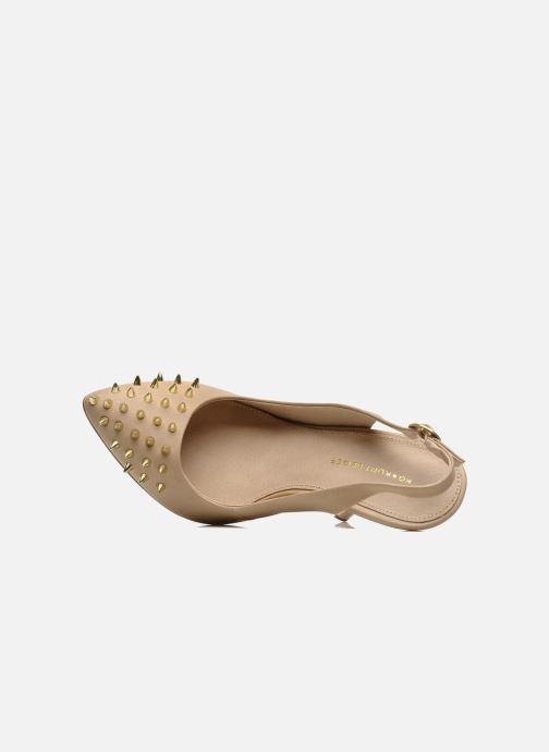 High heels KG By Kurt Geiger Culprit Beige view from the left
