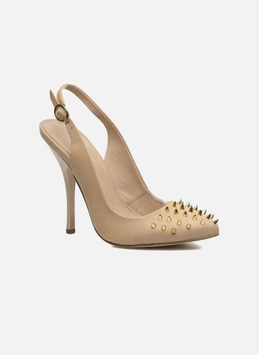 High heels KG By Kurt Geiger Culprit Beige detailed view/ Pair view