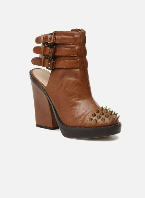 Sandals KG By Kurt Geiger Vex Brown detailed view/ Pair view