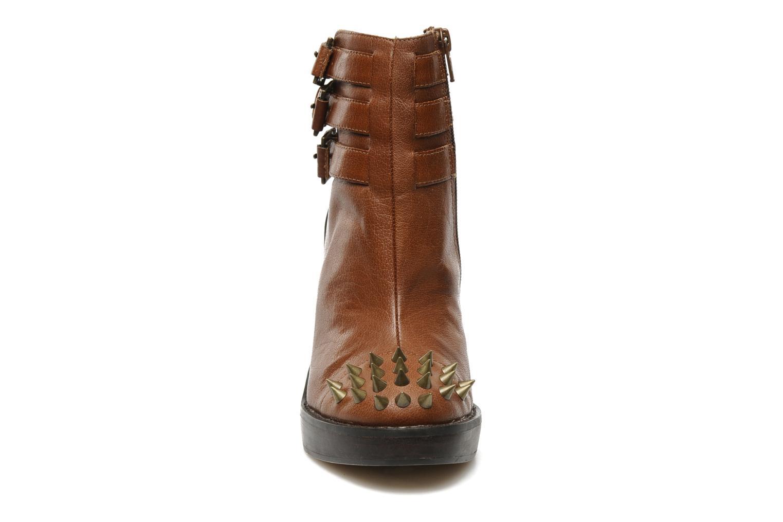 Sandales et nu-pieds KG By Kurt Geiger Vex Marron vue portées chaussures