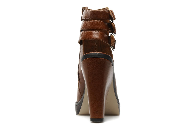 Sandales et nu-pieds KG By Kurt Geiger Vex Marron vue droite