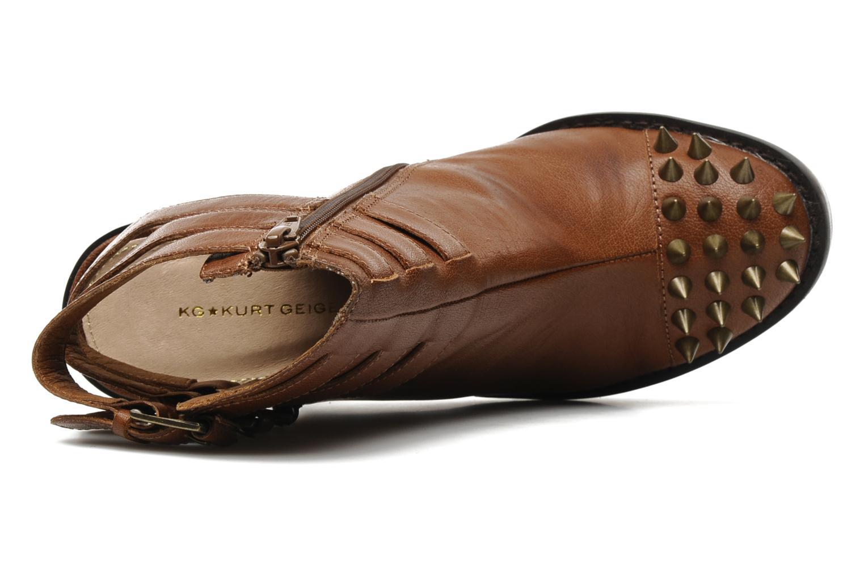 Sandales et nu-pieds KG By Kurt Geiger Vex Marron vue gauche