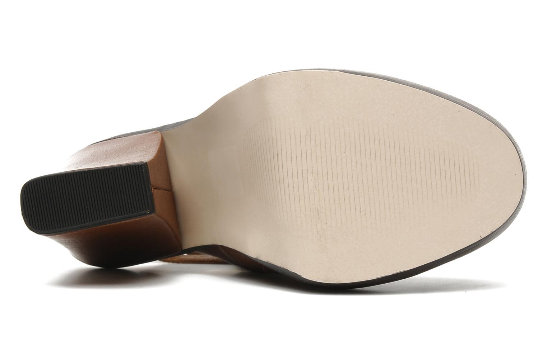 Sandales et nu-pieds KG By Kurt Geiger Vex Marron vue haut