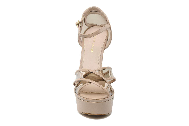 Sandales et nu-pieds KG By Kurt Geiger Kupid Beige vue portées chaussures