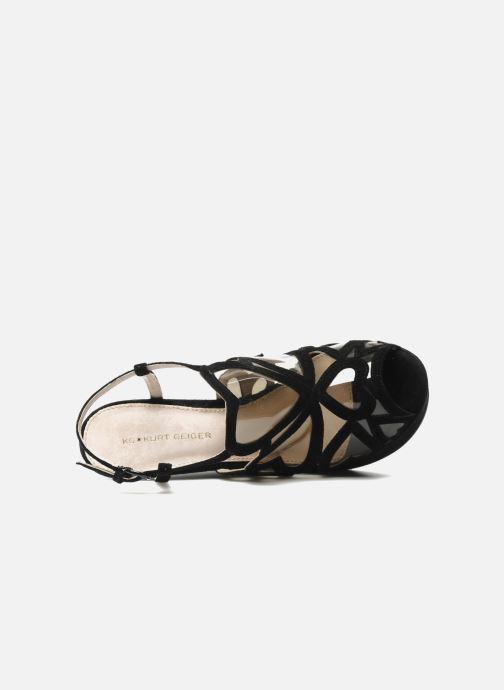 Sandali e scarpe aperte Kurt Geiger Kutie Nero immagine sinistra
