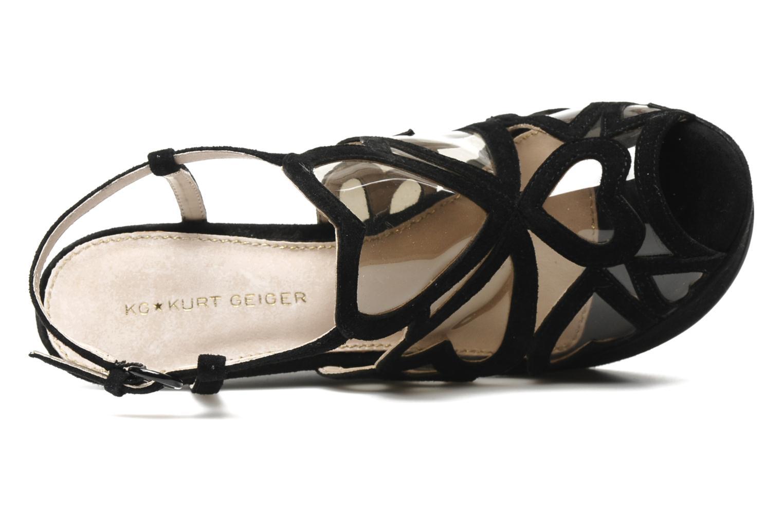 Sandales et nu-pieds KG By Kurt Geiger Kutie Noir vue gauche