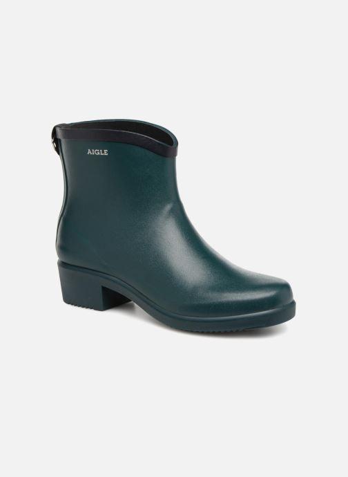 Bottines et boots Aigle Miss Juliette Bottillon Vert vue détail/paire