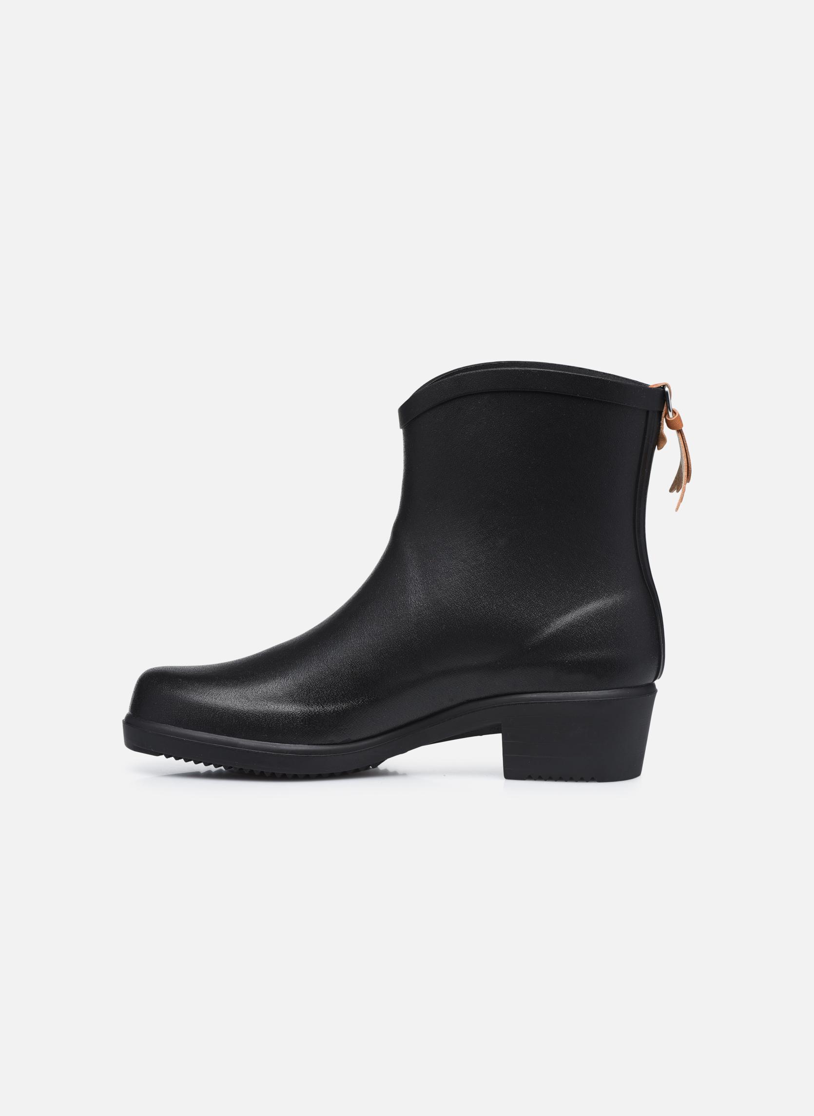 Bottines et boots Aigle Miss Juliette Bottillon Noir vue face