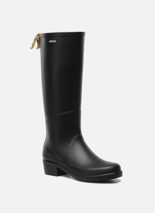 Boots & wellies Aigle Miss Juliette A Black detailed view/ Pair view