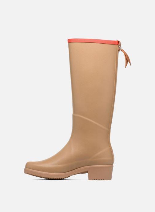 Støvler & gummistøvler Aigle Miss Juliette A Beige se forfra