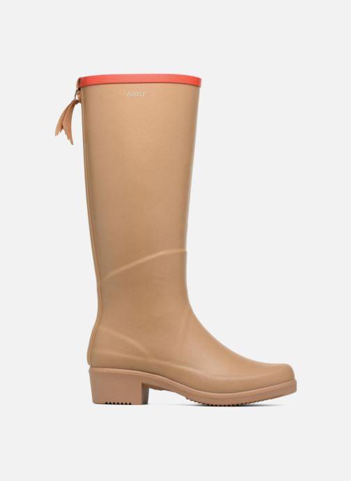 Støvler & gummistøvler Aigle Miss Juliette A Beige se bagfra
