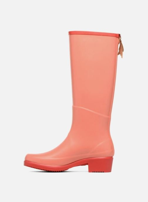 Bottes Aigle Miss Juliette A Orange vue face