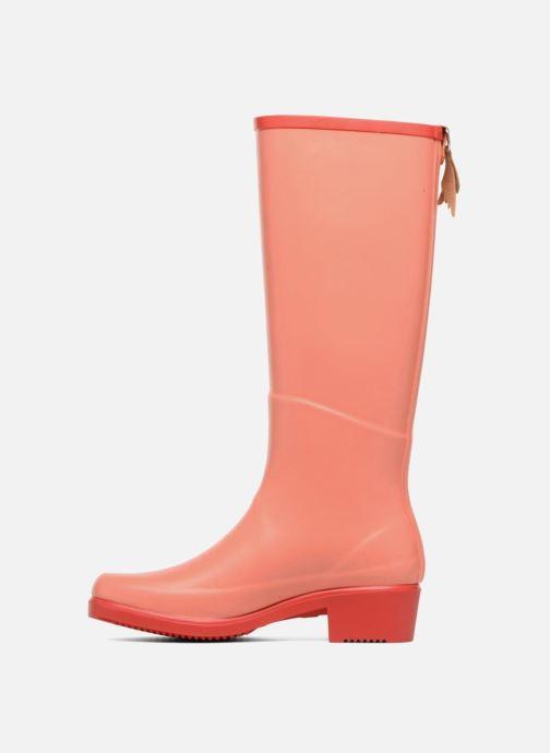 Boots & wellies Aigle Miss Juliette A Orange front view