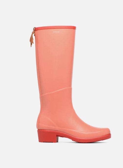 Boots & wellies Aigle Miss Juliette A Orange back view