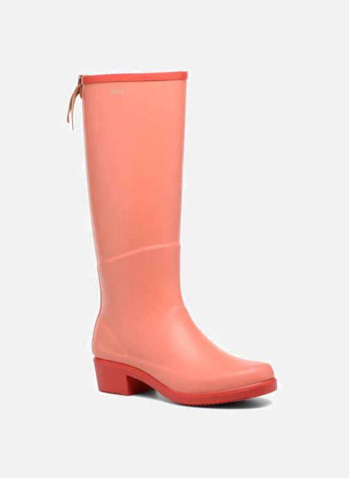 Boots & wellies Aigle Miss Juliette A Orange detailed view/ Pair view