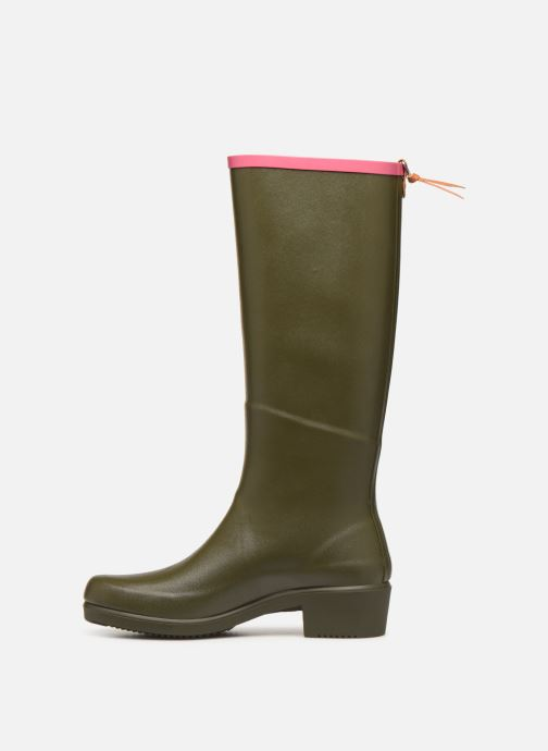 Boots & wellies Aigle Miss Juliette A Green front view