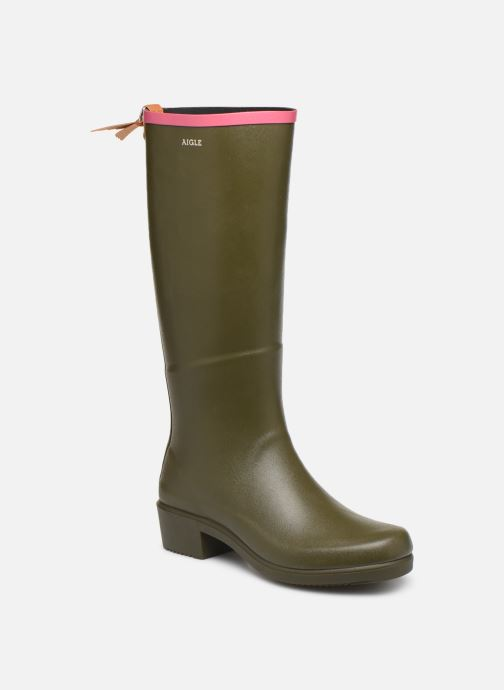 Boots & wellies Aigle Miss Juliette A Green detailed view/ Pair view