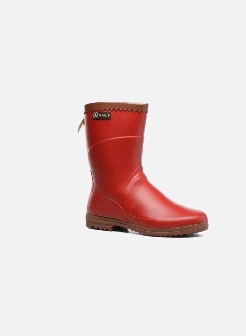 Et Bottines 305056 Aigle rouge Lady Chez Bison Boots Sarenza gawxIptw